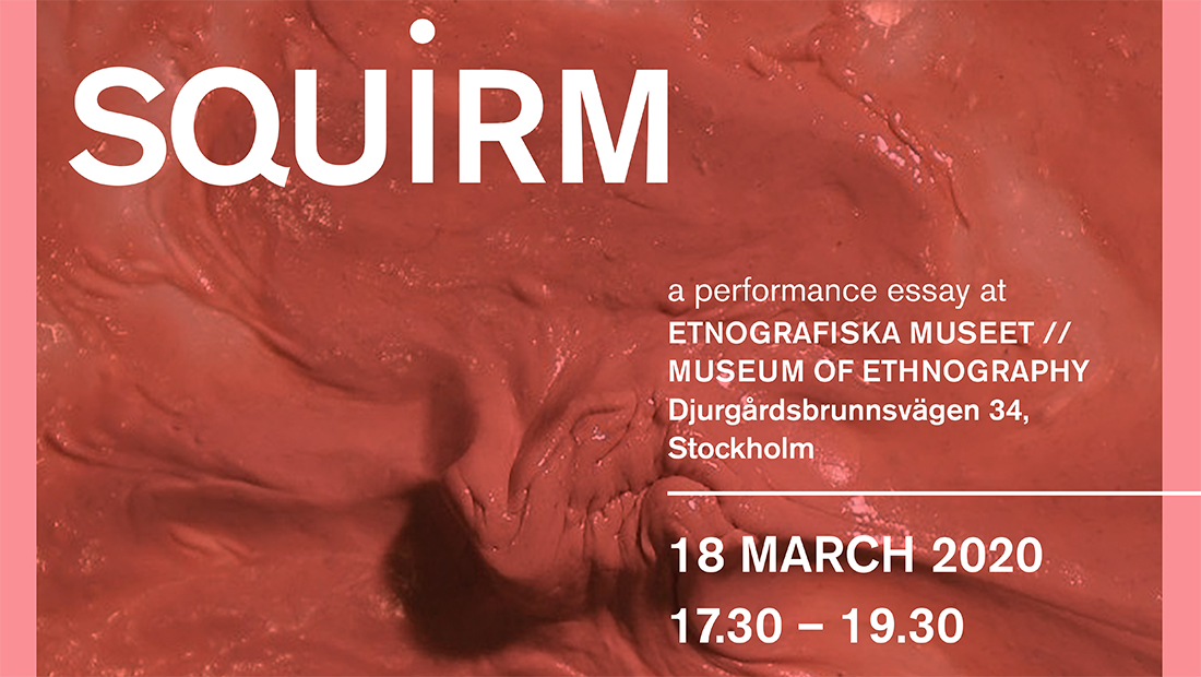 SQUIRM (Live at the Museum, 2020): a simplosium of complicities