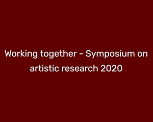 VR-symposium – Working Together
